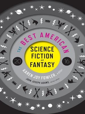cover image of The Best American Science Fiction and Fantasy 2016