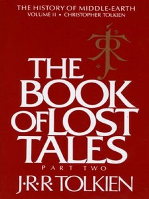 cover image of The Book of Lost Tales, Part 2