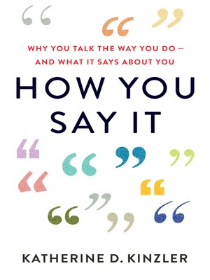 cover image of How You Say It