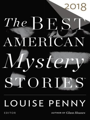 cover image of The Best American Mystery Stories 2018