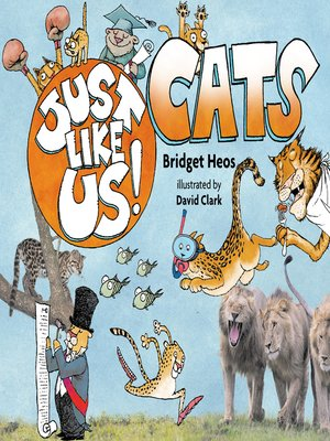 cover image of Just Like Us! Cats