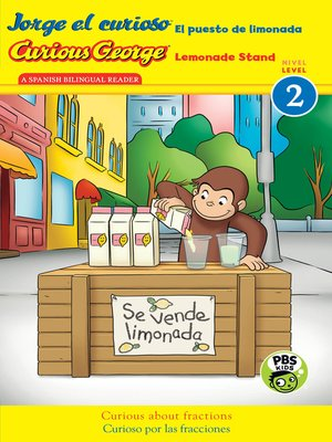 cover image of Jorge el curioso El puesto de limonada / Curious George Lemonade Stand (CGTV reader)
