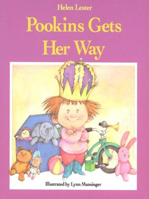 cover image of Pookins Gets Her Way