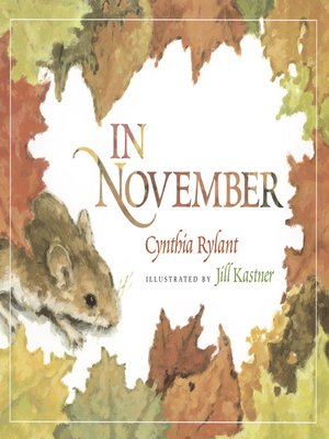 cover image of In November