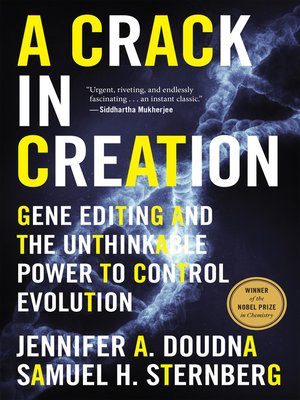 cover image of A Crack in Creation