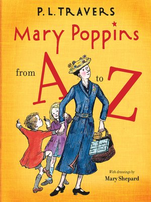 cover image of Mary Poppins from A to Z