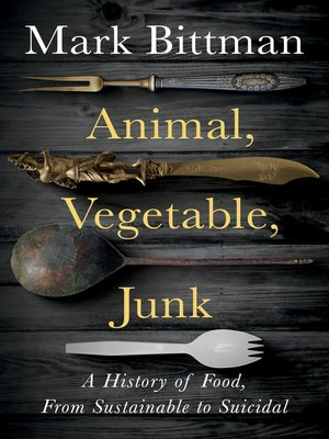 cover image of Animal, Vegetable, Junk