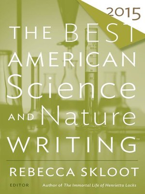 cover image of The Best American Science and Nature Writing 2015