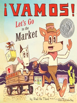 cover image of ¡Vamos! Let's Go to the Market