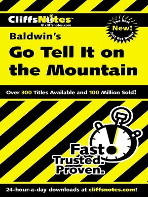 cover image of CliffsNotes on Baldwin's Go Tell It on the Mountain