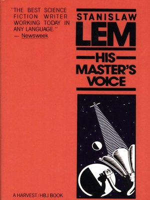 cover image of His Master's Voice