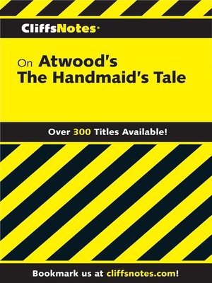 cover image of CliffsNotes on Atwood's the Handmaid's Tale