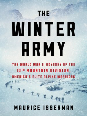 cover image of The Winter Army