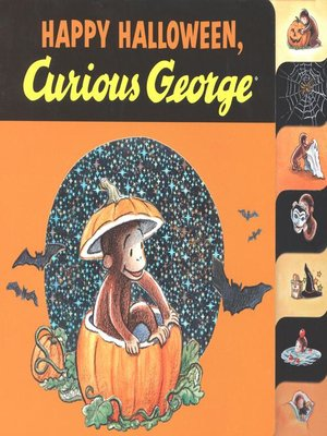 cover image of Happy Halloween, Curious George