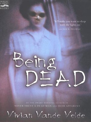 cover image of Being Dead
