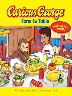 cover image of Curious George Farm to Table (CGTV)