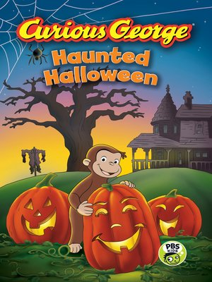 cover image of Curious George Haunted Halloween