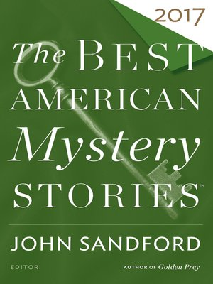 cover image of The Best American Mystery Stories 2017