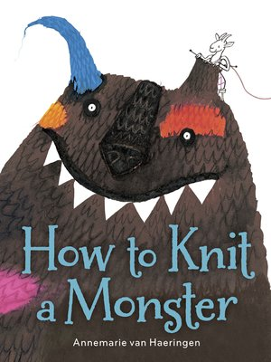 cover image of How to Knit a Monster