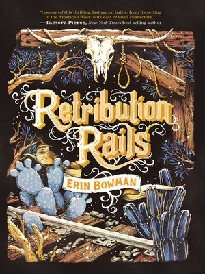 cover image of Retribution Rails