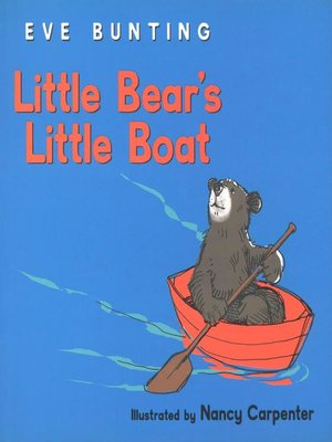 cover image of Little Bear's Little Boat
