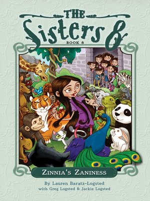 cover image of Zinnia's Zaniness