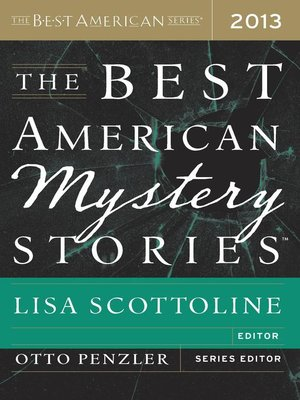 cover image of The Best American Mystery Stories 2013