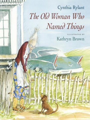 cover image of The Old Woman Who Named Things