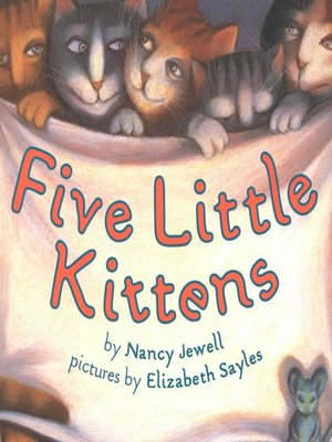 cover image of Five Little Kittens