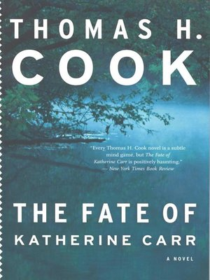 cover image of The Fate of Katherine Carr