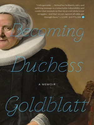 cover image of Becoming Duchess Goldblatt