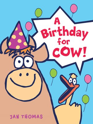 cover image of A Birthday for Cow!
