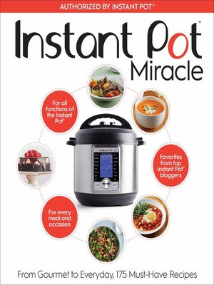 cover image of Instant Pot Miracle