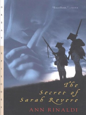 cover image of The Secret of Sarah Revere