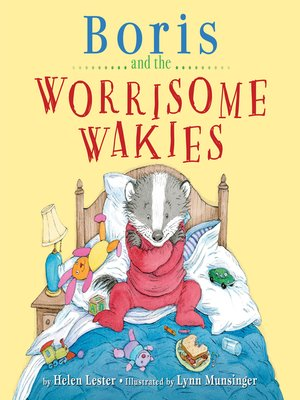 cover image of Boris and the Worrisome Wakies
