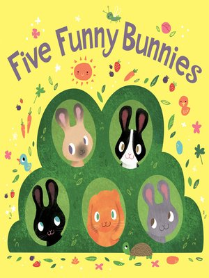 cover image of Five Funny Bunnies
