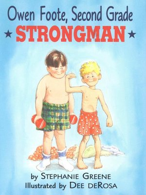 cover image of Owen Foote, Second Grade Strongman