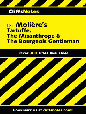 a character analysis of molieres the misanthrope The characterization of elmire  strength and power that a man would bring to the character,  including don juan, the misanthrope,.
