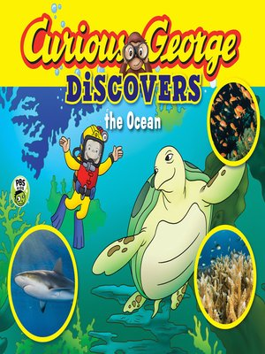 cover image of Curious George Discovers the Ocean