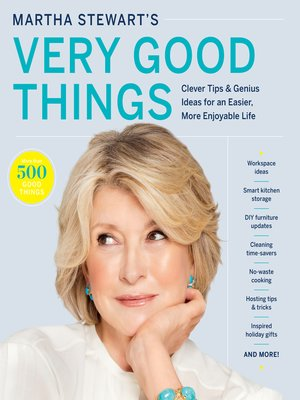 cover image of Martha Stewart's Very Good Things