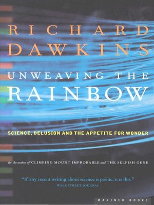cover image of Unweaving the Rainbow