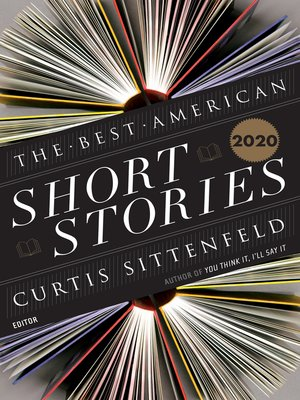 cover image of The Best American Short Stories 2020