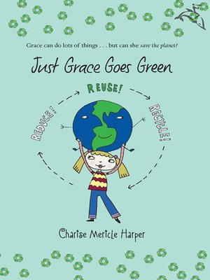 cover image of Just Grace Goes Green