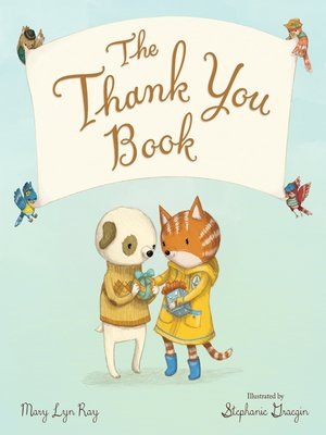 cover image of The Thank You Book