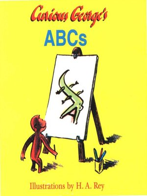 cover image of Curious George's ABCs