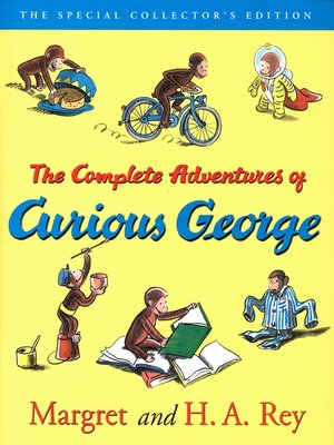 cover image of The Curious George Complete Adventures