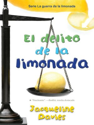 cover image of El delito de la limonada