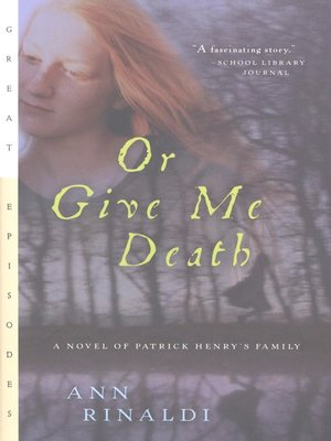 cover image of Or Give Me Death