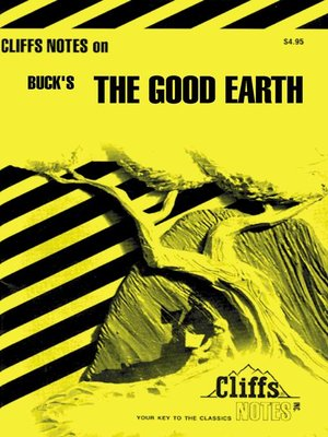 cover image of CliffsNotes on Buck's the Good Earth