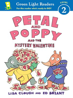 cover image of Petal and Poppy and the Mystery Valentine